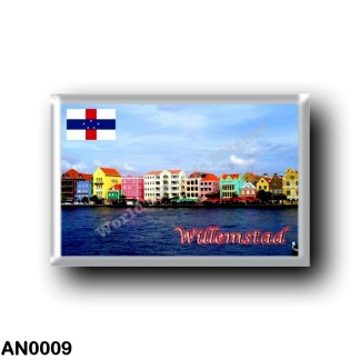 AN0009 America - Netherlands Antilles - Willemstad Panorama