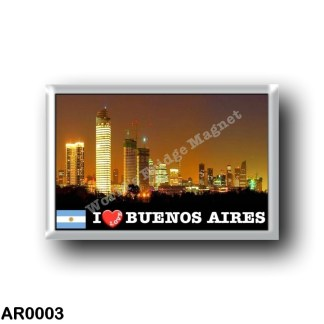 AR0003 America - Argentina - Buenos Aires - By Night