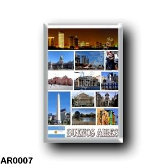 AR0007 America - Argentina - Buoenos Aires - I Love