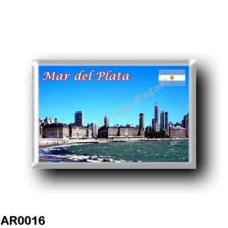 AR0016 America - Argentina - Mar del Plata - Skyline