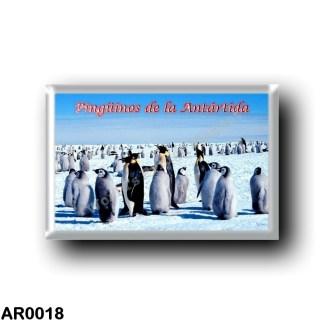 AR0018 America - Argentina - Pingüinos de la Antártida