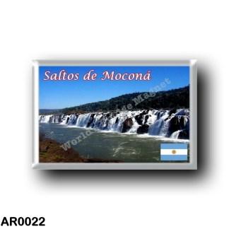 AR0022 America - Argentina - Saltos de Moconá