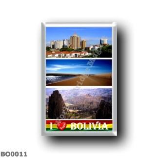 BO0011 America - Bolivia - I Love