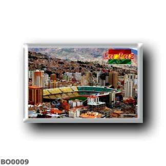 BO0009 America - Bolivia - La Paz - Hernando Siles Stadium