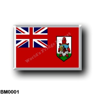 BM0001 America - Bermuda - Flag