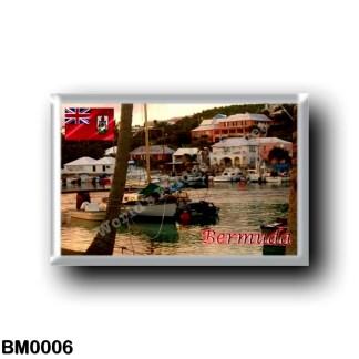 BM0006 America - Bermuda - Flatts Village