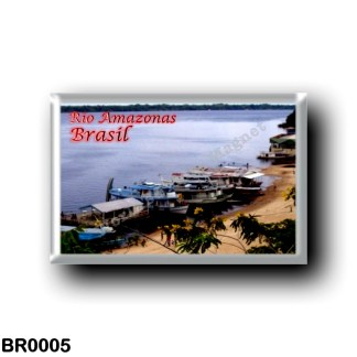 BR0005 America - Brazil - Rio Amazonas