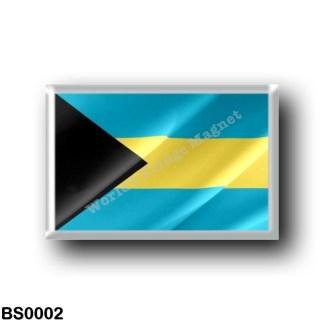 BS0002 America - The Bahamas - Flag Waving