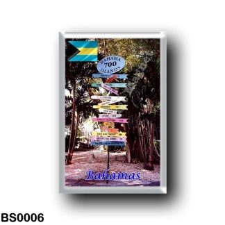 BS0006 America - The Bahamas - Direction Sign