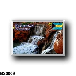 BS0009 America - The Bahamas - Nassau - Garden Waterfalls