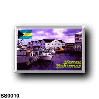 BS0010 America - The Bahamas - Nassau Harbour