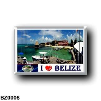 BZ0006 America - Belize - I Love