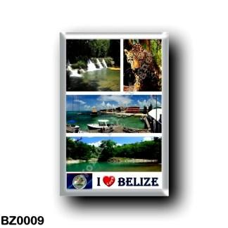 BZ0009 America - Belize - I Love