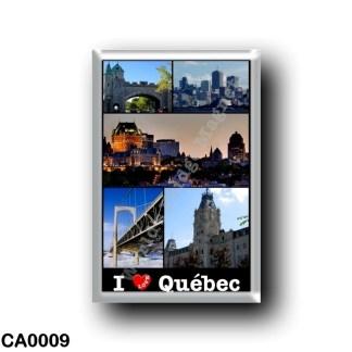 CA0009 America - Canada - Québec - I LOVE