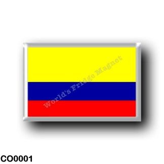 CO0001 America - Colombia - Colombian flag