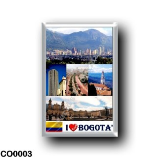 CO0003 America - Colombia - Bogotà - I Love