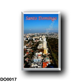 DO0017 America - Dominican Republic - Santo Domingo - Panorama