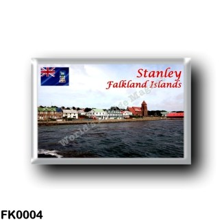 FK0004 America - Falkland Islands - Stanley