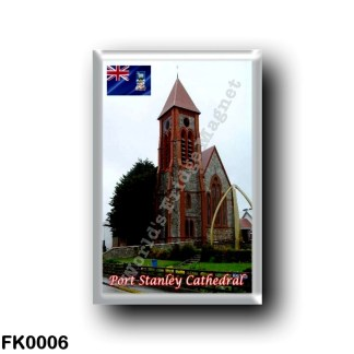 FK0006 America - Falkland Islands - Port Stanley Cathedral