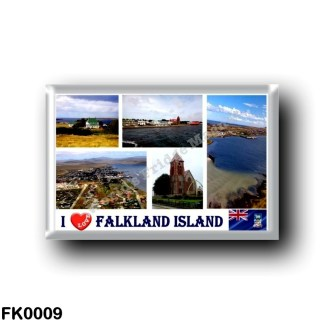 FK0009 America - Falkland Islands - I Love