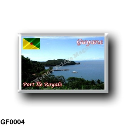 GF0004 America - French Guiana - Port Île Royale
