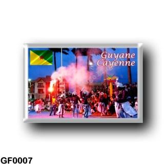 GF0007 America - French Guiana - Cayenne - Le Carnaval