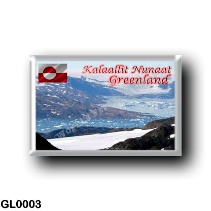 GL0003 America - Greenland - Ammassalik - Glacier & Fiord