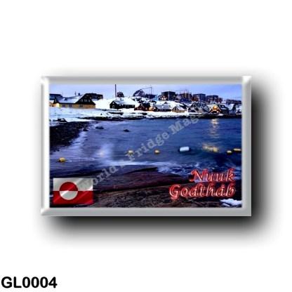 GL0004 America - Greenland - Nuuk Bay