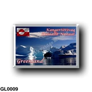 GL0009 America - Greenland - Scoresby Sund - Iceberg