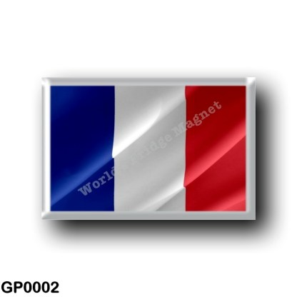 GP0002 America - Guadeloupe - Flag Waving