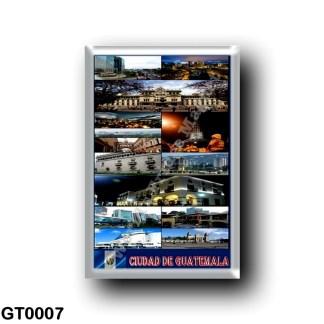 GT0007 America - Guatemala - Guatemala City - Mosaic