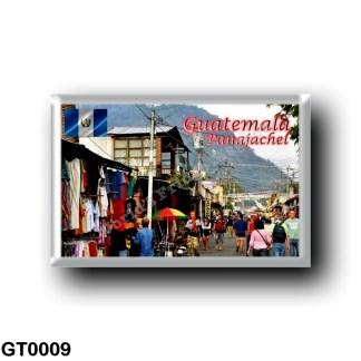 GT0009 America - Guatemala - Panajachel Market