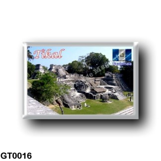 GT0016 America - Guatemala - Tikal