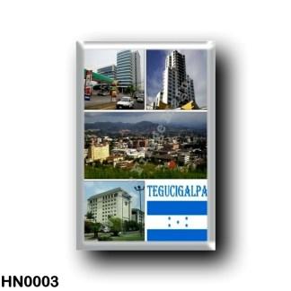HN0003 America - Honduras - Tegugigalpa Mosaic