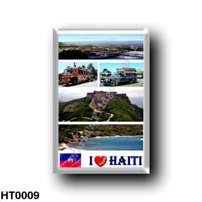 HT0009 America - Haiti - I Love