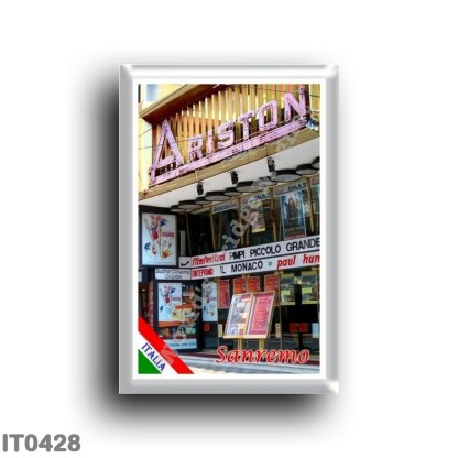 IT0428 Europe - Italy - Liguria - Sanremo - Ariston Theater