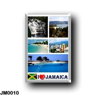 JM0010 America - Jamaica - I Love