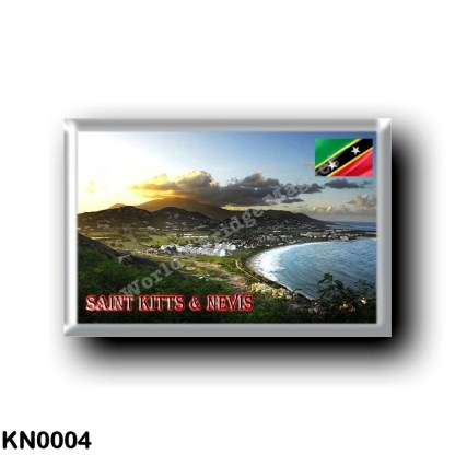 KN0004 America - Saint Kitts and Nevis - Frigate Bay