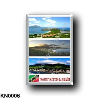 KN0006 America - Saint Kitts and Nevis - Mosaic