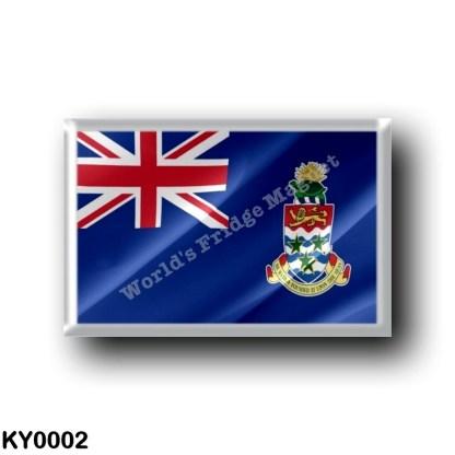KY0002 America - Cayman Islands - Flag Waving
