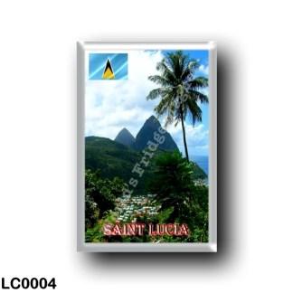 LC0004 America - Saint Lucia - Panorama