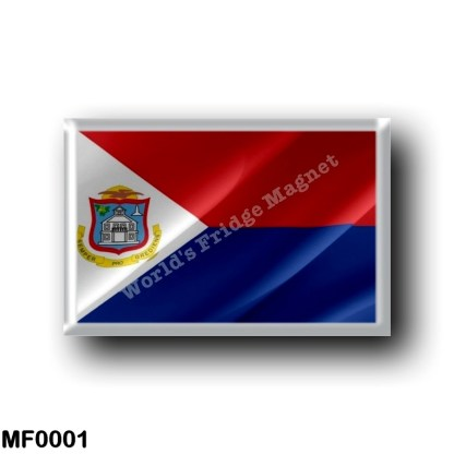 MF0001 America - Saint Martin - Flag Waving