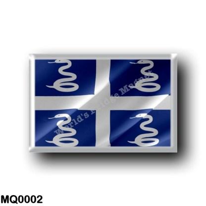 MQ0002 America - Martinique - Flag Waving