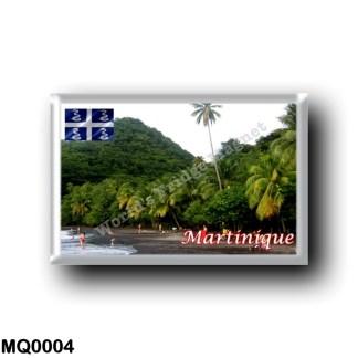 MQ0004 America - Martinique - Anse Céron - La Plage de Sable Noir