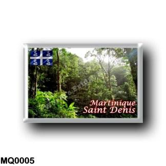 MQ0005 America - Martinique - St. Denis - Forêt tropicale
