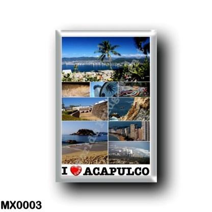 MX0003 America - Mexico - Acapulco - i Love