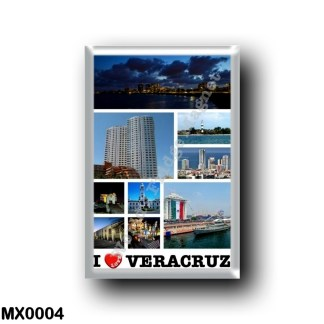 MX0004 America - Mexico - Veracruz - I Love