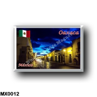 MX0012 America - Mexico - Oaxaca - By Night