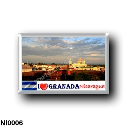 NI0006 America - Nicaragua - Granada I Love