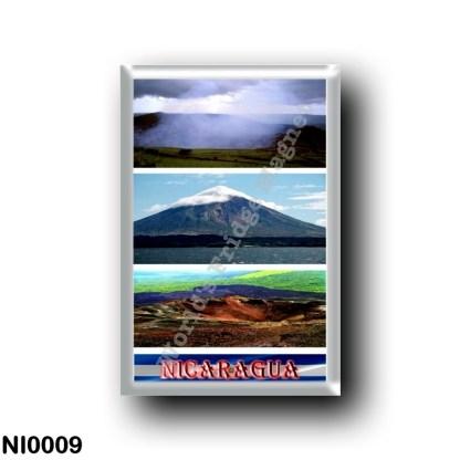 NI0009 America - Nicaragua - Volcán Mosaic